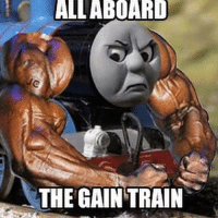 Even if it's the weekend. 💪🏼-.-@doyoueven 👈🏼 FOLLOW for the latest release!: ALL ABOARD  THE GAIN TRAIN Even if it's the weekend. 💪🏼-.-@doyoueven 👈🏼 FOLLOW for the latest release!