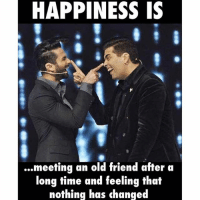 Double Tap if you've felt this ❤️-SuchMoments MeetingOldBuddies-FunOnFunTime LoveIt: HAPPINESS IS  ...meeting an old friend after a  long time and feeling that  nothing has changed Double Tap if you've felt this ❤️-SuchMoments MeetingOldBuddies-FunOnFunTime LoveIt
