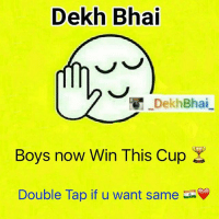 Dekh Bhai  Dekh Bhai  Boys now Win This Cup  Double Tap if u want same Feeling of every Indian 💯❤️🇮🇳💞-TheBestPlayingSideWon-SeeYouAgainNextTime-AlwaysGreatPlayingAgainstPakistan-goosebumps-Hard to get sleep today,-Its Party Time in India 🎉🎊🎆🎇-FireCrackersAllOver