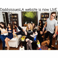 Advice, Click, and Finals: DaddyissuesLA website is now LIVE DADDYISSUES WEBSITE is OFFICIALLY UP! Click on the LINK in my BIO to check it out NOW! Blogs n funny videos will be posted weekly along with an advice column bi-weekly! (Store coming soon). I'm so excited to finally share it all with you sugar tits! Thank you all for the constant support and love, wouldn't have been able to do it without you guys. SugarTitsGang 🍷❤️