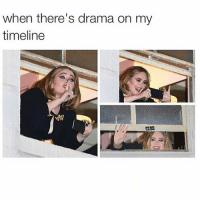 Watching drama unfold makes Mondays more bearable 👀: when there's drama on my  timeline Watching drama unfold makes Mondays more bearable 👀