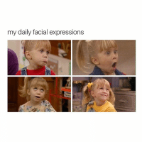 Uh huh: my daily facial expressions Uh huh