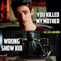 Am I the only one who read it in Manu Benette's voice?: WRONG  SHOW KD  YOUKILLED  MY MOTHER  IGIDC.MEMES Am I the only one who read it in Manu Benette's voice?