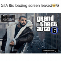 💀: GTA 6ix loading screen leaked  URand  6 When you have a  flashlight modification  attached to your gun, you  can press while aiming  to toggle ton and off.  autar  Loading Story Mode C 💀