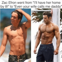 """👻 SC: GYMMEMES-👻 SC: GYMMEMES-.-Check out @MAJESTIC_FITNESS-.-workout bodybuilding crossfit strong motivation instalike powerlifting bench deadlift bench gymmemes gymhumor love funny instamood gymmotivation jokes legday girlswholift fitchick fitspo gym fitness bossgirls ufc: Zac Efron went from """"I'll have her home  by 8!"""" to """"Even your wife calls me daddy 👻 SC: GYMMEMES-👻 SC: GYMMEMES-.-Check out @MAJESTIC_FITNESS-.-workout bodybuilding crossfit strong motivation instalike powerlifting bench deadlift bench gymmemes gymhumor love funny instamood gymmotivation jokes legday girlswholift fitchick fitspo gym fitness bossgirls ufc"""