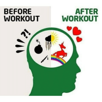 Before and after. 😂💪🏼-.-@doyoueven 👈🏼: BEFORE  WORKOUT  AFTER  WORKOUT Before and after. 😂💪🏼-.-@doyoueven 👈🏼