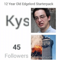 Forgot v1 but this is still great lmao: 12 Year Old Edgelord Starterpack  45  Followers  START  PACKAPP Forgot v1 but this is still great lmao
