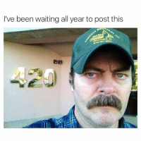 Ron Swanson I love you (@davie_dave ): I've been waiting all year to post this Ron Swanson I love you (@davie_dave )