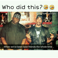 I'm going to hell for this 😫😫 👉 Follow @HipHopMemesDaily for more memes of your favourite artists! 👈: Who did this?  oHipHopMemesDaily  When we've been best friends the whole time I'm going to hell for this 😫😫 👉 Follow @HipHopMemesDaily for more memes of your favourite artists! 👈
