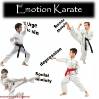 karate: L motion Karate  rge  to sin  Social  anxiety  maizememesready harvest