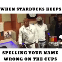 Which one of you made made Biyrdman angry? 🤔😂 BaristaLife Respeck Birdman Starbucks BaristaProblems: WHEN STARBUCKS KEEPS  PO METER.  THE BREAK  SPELLING YOUR NAME  WRONG ON THE CUPS Which one of you made made Biyrdman angry? 🤔😂 BaristaLife Respeck Birdman Starbucks BaristaProblems