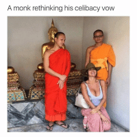 If only he knew that boobs are actually heaven on earth: A monk rethinking his celibacy vow If only he knew that boobs are actually heaven on earth