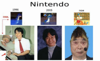 >tfw Nintendo truly is finished: COOL  1996  Nintendo  2005  nOW >tfw Nintendo truly is finished
