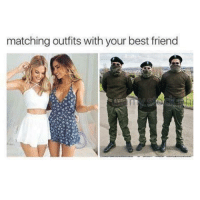 From Patrick Whyte: matching outfits with your best friend From Patrick Whyte