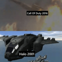 """Remember when people used to say """"HALO COPIED COD"""" We've come full circle lady's and gentlemen. ~XyDz: Call of Duty 2016  Halo 2001 Remember when people used to say """"HALO COPIED COD"""" We've come full circle lady's and gentlemen. ~XyDz"""