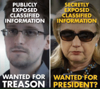 Wanted: PUBLICLY  SECRETLY  EXPOSED  EXPOSED  CLASSIFIED  CLASSIFIED  INFORMATION INFORMATION  WANTED FOR  WANTED FOR  TREASON PRESIDENT? Wanted