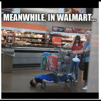 Meanwhile At Walmart: MEANWHILE, IN WALMART  100% S