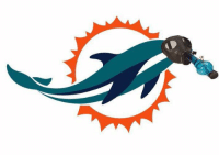 The Miami Dolphins New Logo 💀: L9 The Miami Dolphins New Logo 💀