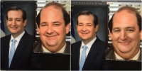 if you face swap Kevin from The Office & Ted Cruz they are actually the same person: 8/8).  Adobe Photoshop CC2015  402.07%  Unknown-1 jpeg 402% (RGB/8   GB/8)  Adobe Photoshop CC2015  402.07%  a Unknown-1 jpeg 40299 (RGB/8) if you face swap Kevin from The Office & Ted Cruz they are actually the same person