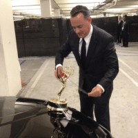 Proud Emmy Award Winner Tom Hanks: N Proud Emmy Award Winner Tom Hanks