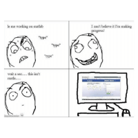 """Matlab and social life. It just doesnt work. Hahaha engineer matlab program software facebook computer engineeringmemes funny laugh life hahaha agree memes engineeringlife nolife homework student hard subject: le me working on matlab  """"type""""  """"type""""  """"type""""  wait a sec  this isn't  matla....  I can't believe it I'm making  progress! Matlab and social life. It just doesnt work. Hahaha engineer matlab program software facebook computer engineeringmemes funny laugh life hahaha agree memes engineeringlife nolife homework student hard subject"""