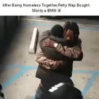 After Being Homeless Together Fetty Wap Bought  Monty a BMW iB Goals af 😁😁😁😁😁😁😁😁😁😁😁-By: unknown-( hoodclips.com )