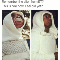 Phone Home 👽: Remember the alien from ET?  This is him now. Feel old yet?  edb  @imeme Phone Home 👽