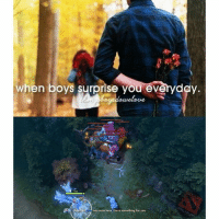 justgirlythings: when boys surprise you everyday  am come here l have something for you justgirlythings
