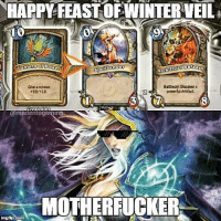Merry Christmas! ❄⛄❄-heartstone @madentogaming memes funny blizzcon blizzard snow cardgame heroesofwarcraft: HAPPY TEASTOFWINTERWEL  SA  10  Arch  Battiecry Discovera  Guveaminion  -10 10,  powerful Artifact  reatedlb  @madentogarQ  MOTHERFUCKER  inngtip. Merry Christmas! ❄⛄❄-heartstone @madentogaming memes funny blizzcon blizzard snow cardgame heroesofwarcraft