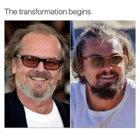 The transformation begins Leo!!! 😨😨😨(@tank.sinatra)