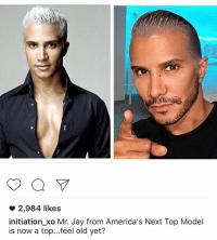 americas next top models: a  2,984 likes  initiation xo Mr. Jay from America's Next Top Model  is now a top...feel old yet?