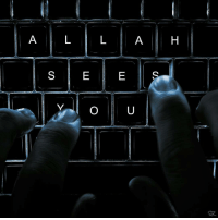 "Memes, 🤖, and Allah: A  A H  S  E  E  O U  SR ""Indeed, Allah knows the unseen [aspects] of the heavens and the earth. And Allah is Seeing of what you do."" Holy Quran (49:18)"