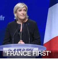 """Memes, Presidential Election, and Earthquake: A-AU NOM DU PEUPLE  FRANCE  FIRST'  7 6 FEB: She described Britain's vote for Brexit as the most important event since the fall of the Berlin Wall, and Donald Trump's US presidential victory as """"an additional stone in the building of a new world"""". Marine Le Pen, the far-right leader of France's National Front (FN), is fighting to achieve a similar earthquake in France in the presidential elections in 2017. Find out more: bbc.in-lepen MarineLePen France FrontNational FrenchElections AuNomDuPeuple Brexit Trump EU BBCShorts @BBCNews BBCNews"""
