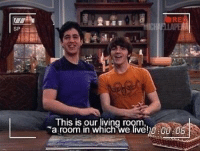 This is why I miss Drake and Josh https://t.co/7OJvDwL5rJ: A AUORE  SP  This is our living room  a room in which we liveh0:00 0 This is why I miss Drake and Josh https://t.co/7OJvDwL5rJ