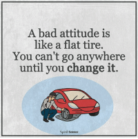 """I want you to take a deep breath and pay close attention, because what I'm about to tell you may SHOCK you. I'm about to reveal my """"Lazy Person Secret"""" that will literally force the Universe to give you everything you've ever wished for: http://bit.ly/manifestyrdr1: A bad attitude is  like a flat tire.  You can't go anywhere  until you change it.  Spirit Science I want you to take a deep breath and pay close attention, because what I'm about to tell you may SHOCK you. I'm about to reveal my """"Lazy Person Secret"""" that will literally force the Universe to give you everything you've ever wished for: http://bit.ly/manifestyrdr1"""