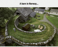 Tumblr, Blog, and Cool: A barn in Norway... srsfunny:Norway Always Looks So Cool