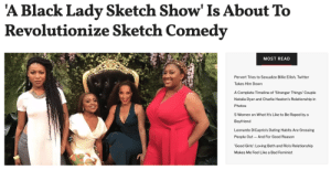 "Fans were gutted when they found out that Issa Rae's summer staple Insecurewouldn't be returning until 2020. But the woman is out here, securing the bag.Besides becoming a bonafide movie star, Issa is currently working on three new shows for HBO, with the first, A Black Lady Sketch Show, premiering Friday, August 2nd at 11 p.m.The half-an-hour show was created and written by comedienne Robin Thede and Issa will guest star and serve as the show's Executive Producer. According to HBO, the show is going to be a ""narrative series set in a limitless magical reality full of dynamic, hilarious characters and celebrity guests.""Continue reading: 'A Black Lady Sketch Show' Is About To  Revolutionize Sketch Comedy  MOST READ  Pervert Tries to Sexualize Billie Eilish, Twitter  Takes Him Down  A Complete Timeline of 'Stranger Things' Couple  Natalia Dyer and Charlie Heaton's Relationship in  Photos  5 Women on What It's Like to Be Raped by a  Boyfriend  Leonardo DiCaprio's Dating Habits Are Grossing  People Out And For Good Reason  'Good Girls': Loving Beth and Rio's Relationship  Makes Me Feel Like a Bad Feminist Fans were gutted when they found out that Issa Rae's summer staple Insecurewouldn't be returning until 2020. But the woman is out here, securing the bag.Besides becoming a bonafide movie star, Issa is currently working on three new shows for HBO, with the first, A Black Lady Sketch Show, premiering Friday, August 2nd at 11 p.m.The half-an-hour show was created and written by comedienne Robin Thede and Issa will guest star and serve as the show's Executive Producer. According to HBO, the show is going to be a ""narrative series set in a limitless magical reality full of dynamic, hilarious characters and celebrity guests.""Continue reading"