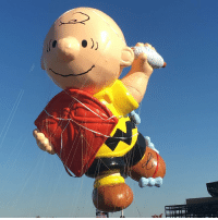 A brand new Charlie Brown balloon just premiered in the Macy's Thanksgiving Day Parade! @macys: A brand new Charlie Brown balloon just premiered in the Macy's Thanksgiving Day Parade! @macys
