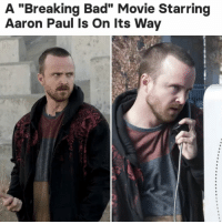 "Bad, Breaking Bad, and News: A ""Breaking Bad"" Movie Starring  Aaron Paul Is On Its Way for all the news you need to know, follow 👉 @buzzfeednews 🗞"