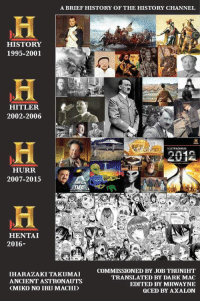 """<p>History is amazing via /r/dank_meme <a href=""""http://ift.tt/2zHOTlf"""">http://ift.tt/2zHOTlf</a></p>: A BRIEF HISTORY OF THE HISTORY CHANNEL  HISTORY  1995-2001  HITLER  2002-2006  NOSTRADAMUS  2012  HURR  2007-2015  2  HENTAI  2016-  IHARAZAKI TAKUMAI  ANCIENT ASTRONAUTS  CMIKO NO IRU MACHD  COMMISSIONED BY JOB TRUNIHT  TRANSLATED BY DARK MAC  EDITED BY MRWAYNE  OCED BY AXALON <p>History is amazing via /r/dank_meme <a href=""""http://ift.tt/2zHOTlf"""">http://ift.tt/2zHOTlf</a></p>"""
