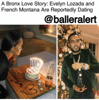 """A Bronx Love Story: Evelyn Lozada and French Montana Are Reportedly Dating– blogged by @MsJennyb ⠀⠀⠀⠀⠀⠀⠀ ⠀⠀⠀⠀⠀⠀⠀ """"Basketball Wives"""" star EvelynLozada may have a new man on her arm amid her split from fiancé CarlCrawford. According to @theblast, Lozada is now dating rapper, FrenchMontana. ⠀⠀⠀⠀⠀⠀⠀ ⠀⠀⠀⠀⠀⠀⠀ Sources close to the Bronx natives say the two have been spending a lot of time together, and most recently kicked it for Lozada's 42nd birthday earlier this month at the rapper's house in L.A. ⠀⠀⠀⠀⠀⠀⠀ ⠀⠀⠀⠀⠀⠀⠀ Although the two are still """"taking things slow,"""" according to the publication, they are building a relationship with one another and having tons of fun in the meantime. ⠀⠀⠀⠀⠀⠀⠀ ⠀⠀⠀⠀⠀⠀⠀ Are we here for this?: A Bronx Love Story: Evelyn Lozada and  French Montana Are Reportedly Dating  @balleralert  ROC  Roc A Bronx Love Story: Evelyn Lozada and French Montana Are Reportedly Dating– blogged by @MsJennyb ⠀⠀⠀⠀⠀⠀⠀ ⠀⠀⠀⠀⠀⠀⠀ """"Basketball Wives"""" star EvelynLozada may have a new man on her arm amid her split from fiancé CarlCrawford. According to @theblast, Lozada is now dating rapper, FrenchMontana. ⠀⠀⠀⠀⠀⠀⠀ ⠀⠀⠀⠀⠀⠀⠀ Sources close to the Bronx natives say the two have been spending a lot of time together, and most recently kicked it for Lozada's 42nd birthday earlier this month at the rapper's house in L.A. ⠀⠀⠀⠀⠀⠀⠀ ⠀⠀⠀⠀⠀⠀⠀ Although the two are still """"taking things slow,"""" according to the publication, they are building a relationship with one another and having tons of fun in the meantime. ⠀⠀⠀⠀⠀⠀⠀ ⠀⠀⠀⠀⠀⠀⠀ Are we here for this?"""