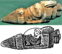 """Memes, Istanbul, and 🤖: a-c.es.""""  A 2,500 year-old artifact found in Istanbul which many believe to depict a rocket ship."""