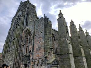 A chapel in ruins. Taken at the Palace of Holyroodhouse during my trip to Edinburgh last summer.: A chapel in ruins. Taken at the Palace of Holyroodhouse during my trip to Edinburgh last summer.