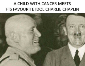 Charlie, Cancer, and Charlie Chaplin: A CHILD WITH CANCER MEETS  HIS FAVOURITE IDOL CHARLIE CHAPLIN How touching (1938)
