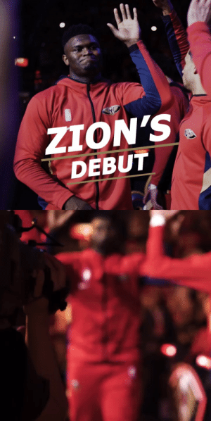 A cinematic look at Zion's NBA debut!   🎥 @PelicansNBA  https://t.co/DGFWZJoDwG: A cinematic look at Zion's NBA debut!   🎥 @PelicansNBA  https://t.co/DGFWZJoDwG