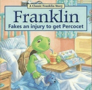 A Classic Franklin Story Franklin Fakes an Injury to Get