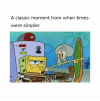 The old spongebob episodes were the best tbh: A classic moment from when times  were simpler The old spongebob episodes were the best tbh
