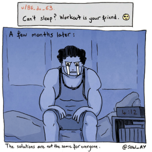 A comic about sleep disorder. [oc]: A comic about sleep disorder. [oc]