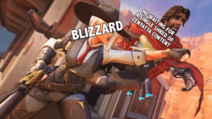 scarecrow-hero:  I mean Ashe is amazing but: A CONTENT  BLIZZARD scarecrow-hero:  I mean Ashe is amazing but