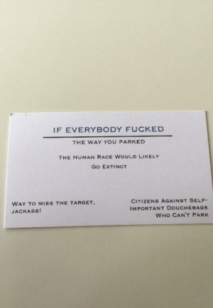 A coworker of mine always had one of these in his wallet just in case.: A coworker of mine always had one of these in his wallet just in case.
